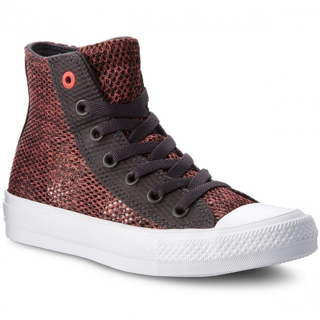 Trampki CONVERSE - Ctas II Hi 155729C Almost Black/Ultra Red/White