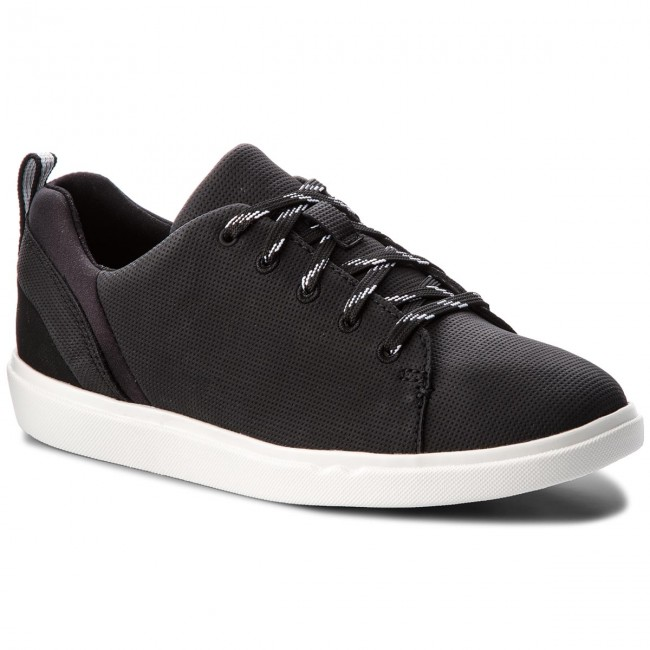 Sneakersy CLARKS - Step Verve Lo. 261331224 Black