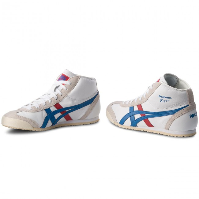 new product 4ff36 346cd Sneakersy ASICS - ONITSUKA TIGER Mexico Mid Runner DL409 White/Daphne 0143