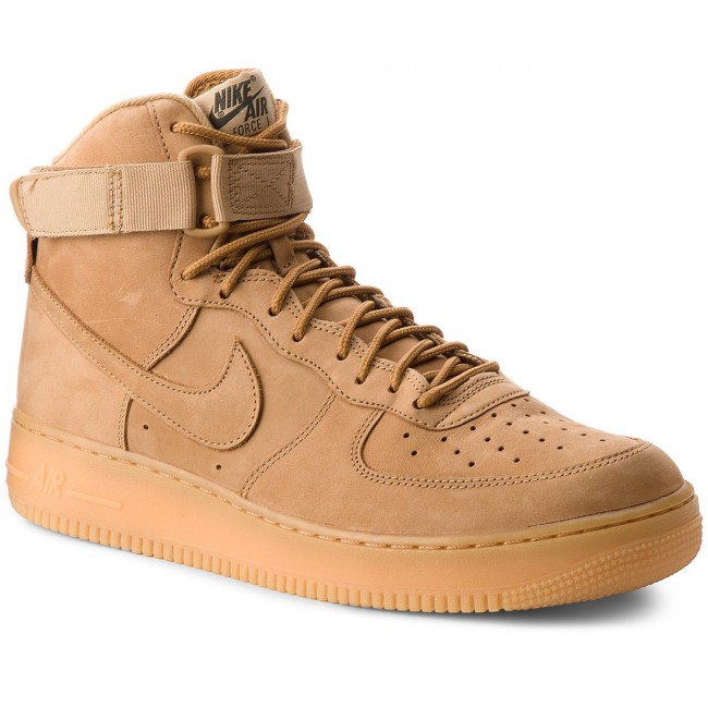 Buty NIKE Air Force 1 High '07 Lv8 Wb 882096 200 FlaxFlaxOutdoor Green