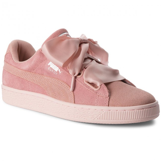 purchase cheap 4c4ac 07a94 Sneakersy PUMA - Suede Heart Pebble Wn's 365210 01 Peach Beige/Pearl
