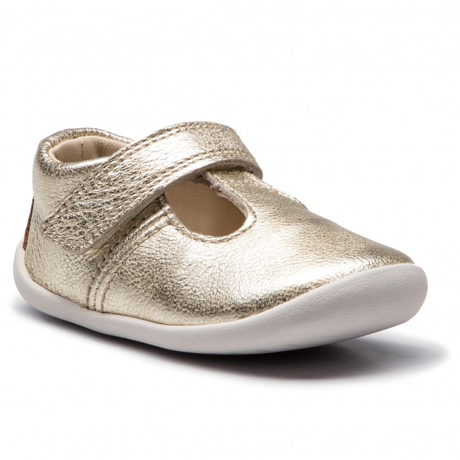 Półbuty CLARKS - Roamer Go 261385876  Metallic Leather