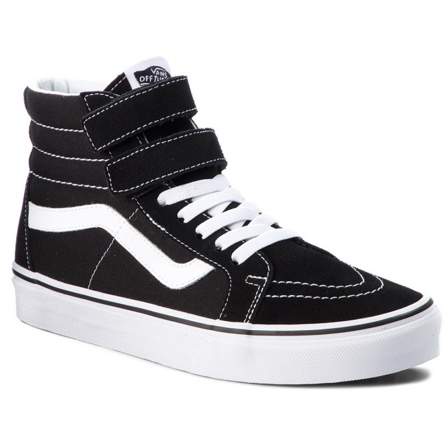 Sneakersy VANS SK8 Hi Reissue V VN0A3MV66BT BlackTrue White