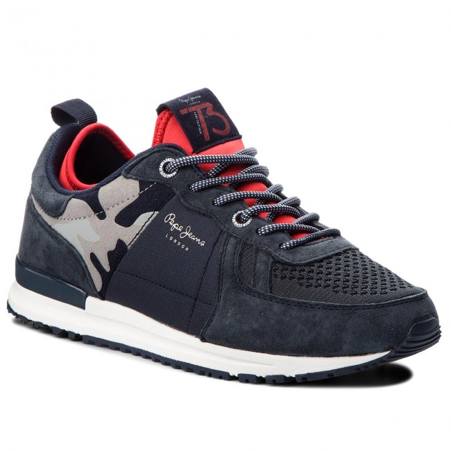 Sneakersy PEPE JEANS - Tinker Pro-70 PMS30488  Navy 595