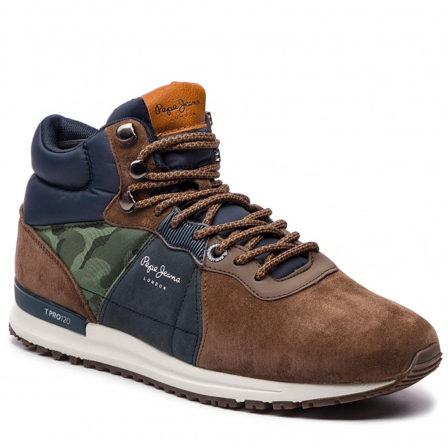 Sneakersy PEPE JEANS - Tinker Pro-Boot PMS30490 Stag 884