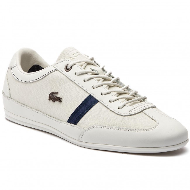Sneakersy LACOSTE - Misano 318 1 Cam 7-36CAM0056WN1 Off Wht/Nvy