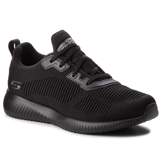 Sneakersy SKECHERS - BOBS SPORT Squad Tough Talk 32504/BBK Black