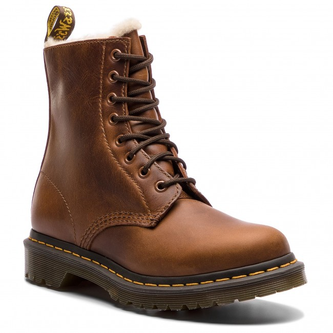 Glany DR. MARTENS - 1460 Serena 23912243 Butterscotch