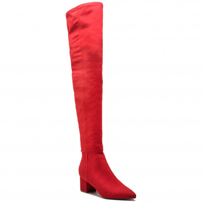 Batfortai STEVE MADDEN - Bolted Boot SM11000229-04001-009 Red