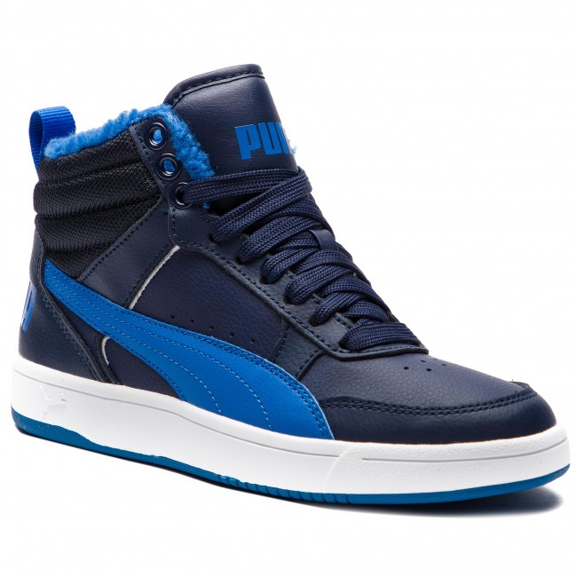 Sneakersy PUMA - Rebound Street V2 Fur Jr 363919 05 Peacoat/Strong Blue/White