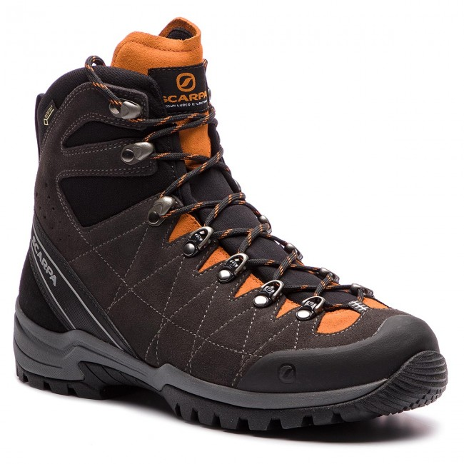 Trekkingi SCARPA - R-Evolution Gtx GORE-TEX 60256-201 Anthracite/Papaya