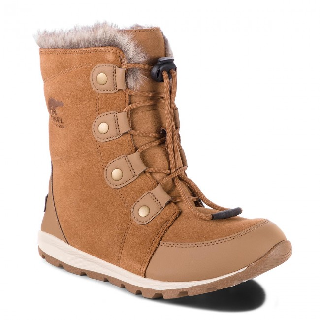 Śniegowce SOREL - Youth Whitney Suede NY2329 Elk/Natural 286