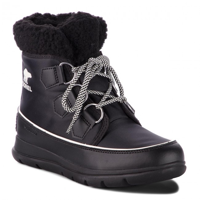 Śniegowce SOREL - Explorer Carnival NL3040 Black/Sea Salt 010