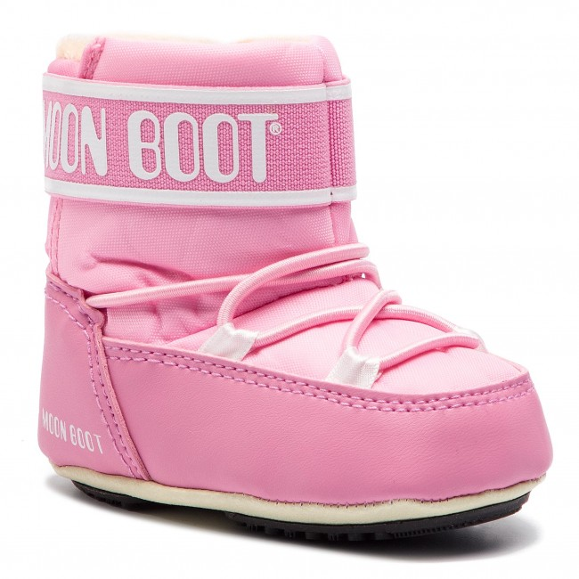 Śniegowce MOON BOOT - Crib 2 34010200004  Light Pink