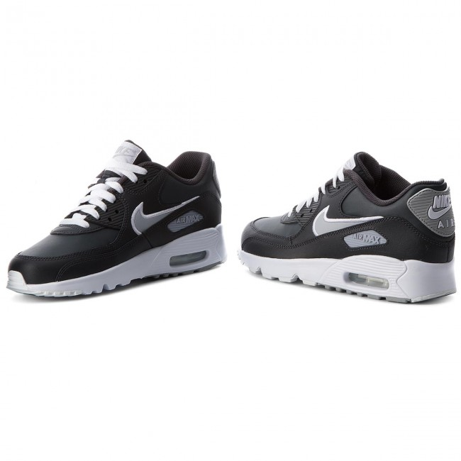 Buty NIKE Air Max 90 Ltr (GS) 833412 021 AnthraciteWolf GreyWhite