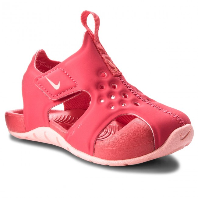 Sandały NIKE - Sunray Protect 2 (TD) 943829 600 Tropical Pink/Bleached Coral