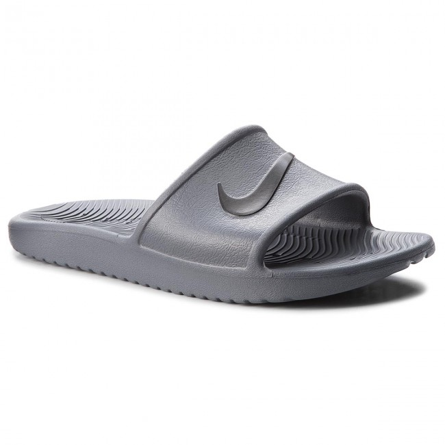 best loved 84e23 f3fd1 Шльопанці NIKE - Kawa Shower 832528 010 Dark GreyBlack