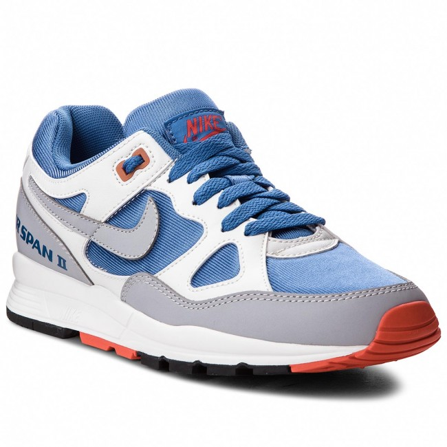Buty NIKE Air Span II AH6800 400 Mountain BlueWolf Grey