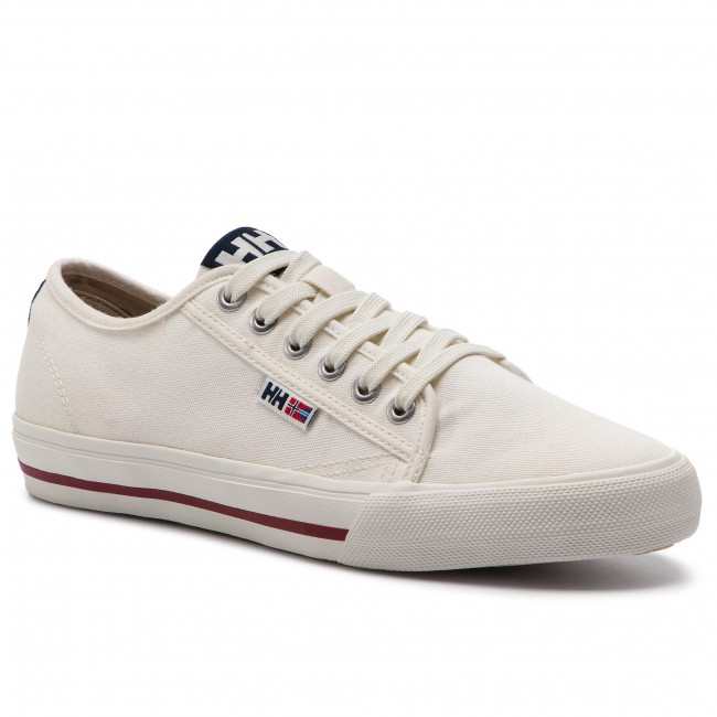 Tenisówki HELLY HANSEN - Fjord Canvas Shoe V2 114-65.011 Off White /Navy/Plum