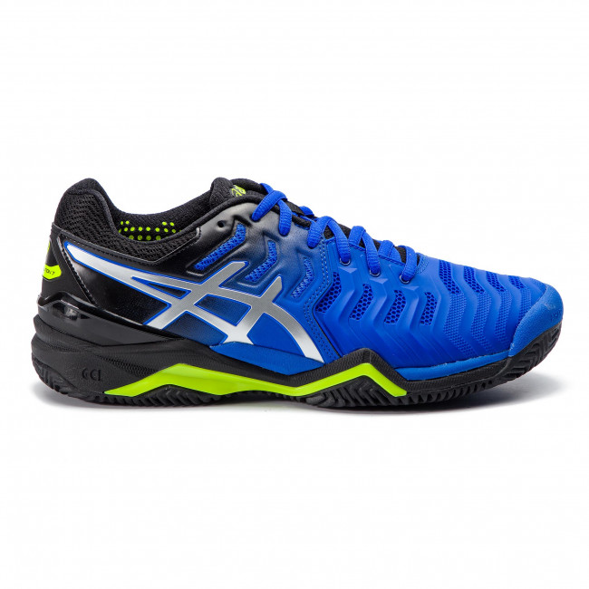 Buty ASICS Gel Resolution 7 Clay E702Y Illusion BlueSilver 407