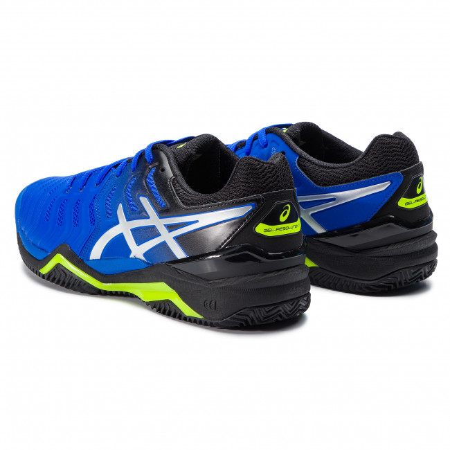 Asics Gel Resolution 7 Clay Illusion Blue Silver buty tenisowe