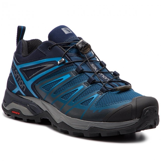 Salomon X Ultra 3 Hiking Shoe Men's PoseidonIndigo