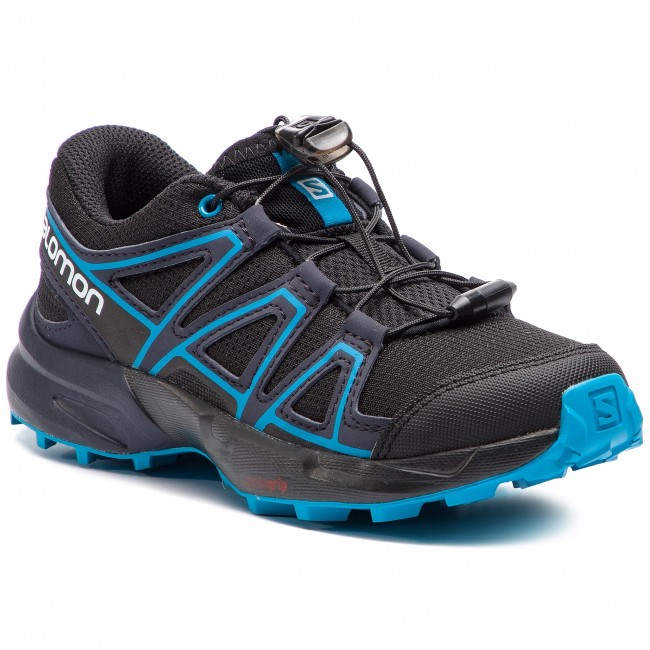 Buty SALOMON - Speedcross J 404820 09 M0 Black/Graphite/Hawaiian Surf