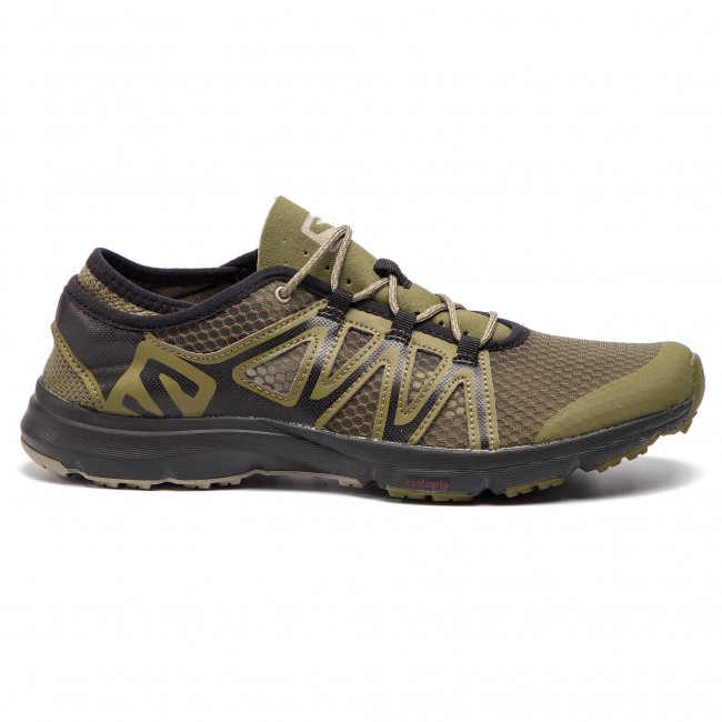 Salomon Crossamphibian Swift 2 407474 27 V0 Burnt Olive Black Vintage Kaki