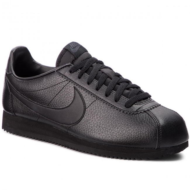 Buty NIKE - Classic Cortez Leather 749571 002 Black/Black/Anthracite