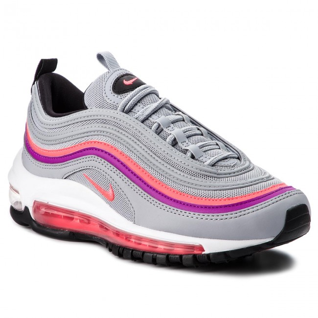 Buty NIKE Air Max 97 921733 009 Wolf GreySolar Red