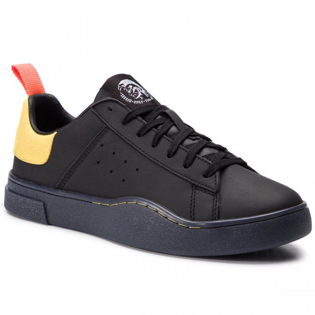 Sneakersy DIESEL - S-Clever Low Y01748-P2282 H7090 Black/Yellow Fluo