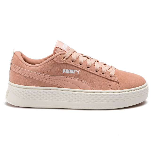 Sneakersy PUMA Smash Platform SD 366488 08 Peach BudPuma White