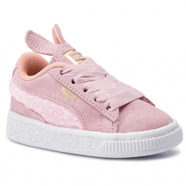 Sneakersy PUMA - Suede Easter Ac Inf 368946 02 Pale Pink/Coral Cloud