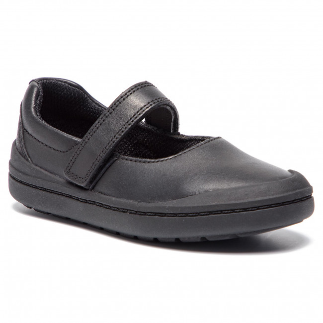 Półbuty CLARKS - Rock Spark T 261415606 Black Leather