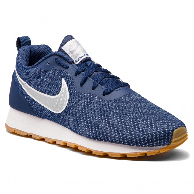 Buty NIKE - Md Runner 2 Eng Mesh 916774 402 Midnight Navy/Metallic Silver