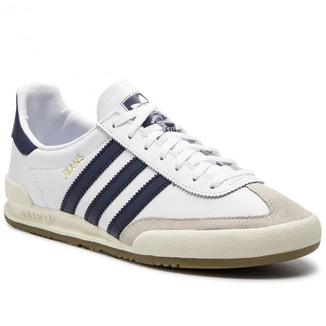Buty adidas Jeans BD7683 FtwwhtConavyCbrown