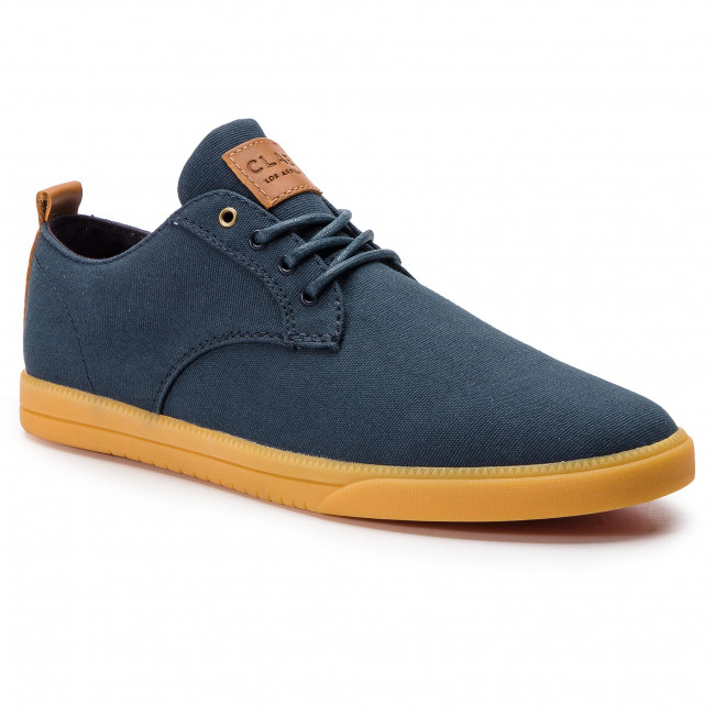 Półbuty CLAE - Ellington Textile CLA01275 Deep Navy Canvas