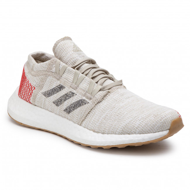 Buty adidas - PureBoost Go B37805 Cbrown/Carbon/Actred