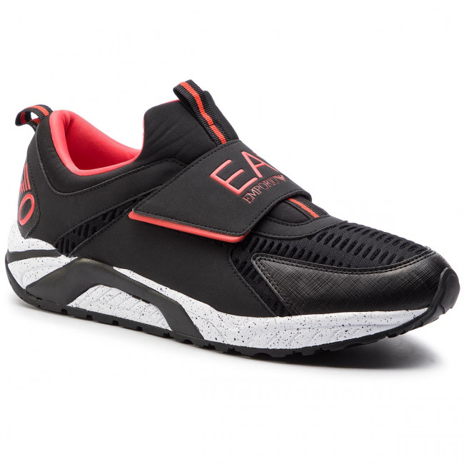 Sneakersy EA7 EMPORIO ARMANI - X8X035 XK062 A043 Black/Red
