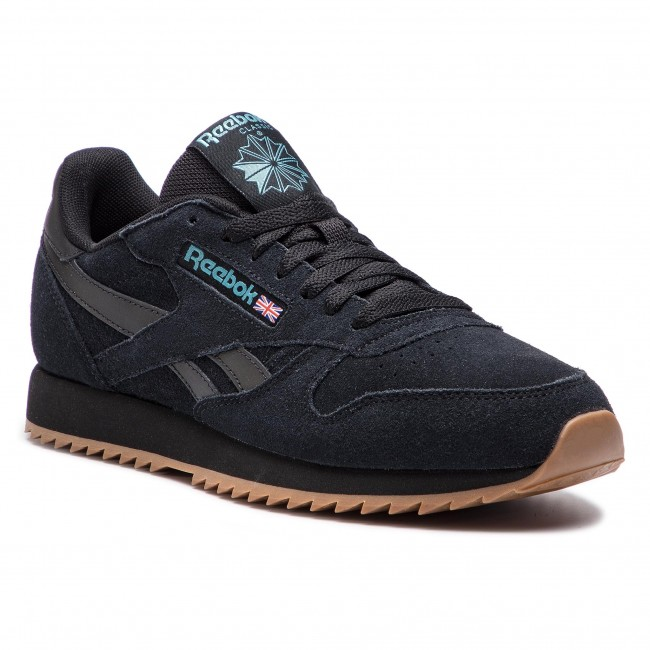 Buty Reebok - Cl Leather Mu DV3933 BLack/Mineral Mist/Lee