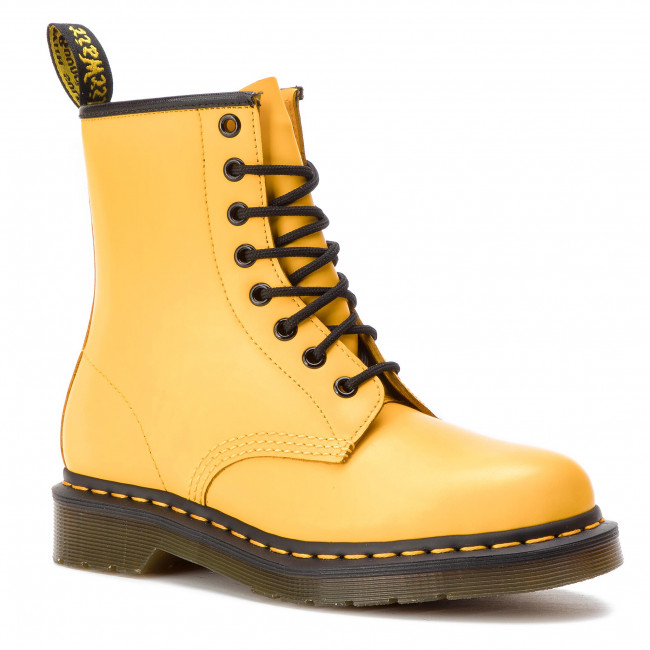 Glany DR. MARTENS - 1460 Smooth 24614700 Yellow