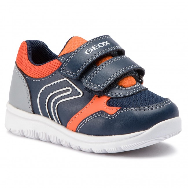 Sneakersy GEOX - B Xunday B. B B921BB 0BC14 C0659 M Navy/Orange