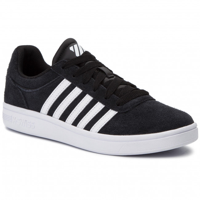 Sneakersy K-SWISS - Court Cheswick Sde 05676-002-M Black/White