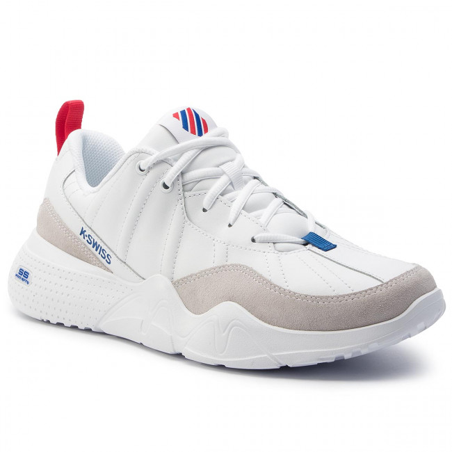 Sneakersy K-SWISS - Cr-329 Ltr White/Mars Red/Classic Blue