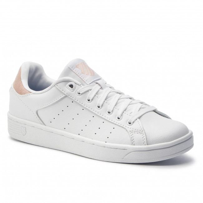 Sneakersy K-SWISS - Clean Coirt Cmf 95353-189-M White/Spanish Willa