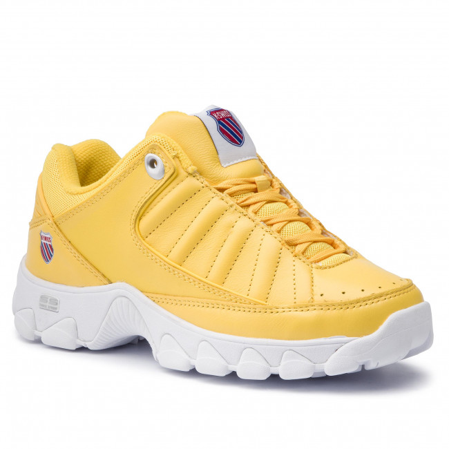 Sneakersy K-SWISS - St529 Heritage 96045-738-M  Cyber Yellow/White