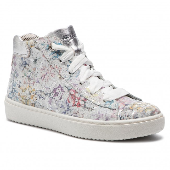 Sneakersy SUPERFIT - 4-09498-11 S Weiss