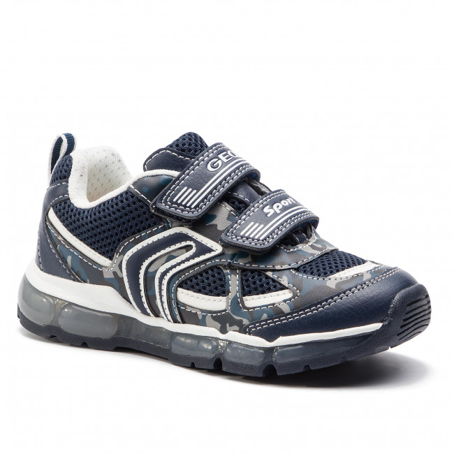 Sneakersy GEOX - J Android B. C J9244C 01454 C4211 S  Navy/White