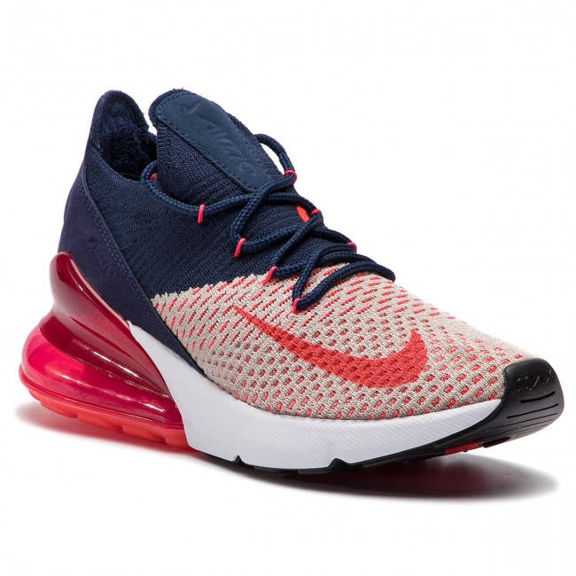 Buty NIKE Air Max 270 Flyknit AH6803 200 Moon ParticleRed Orbit