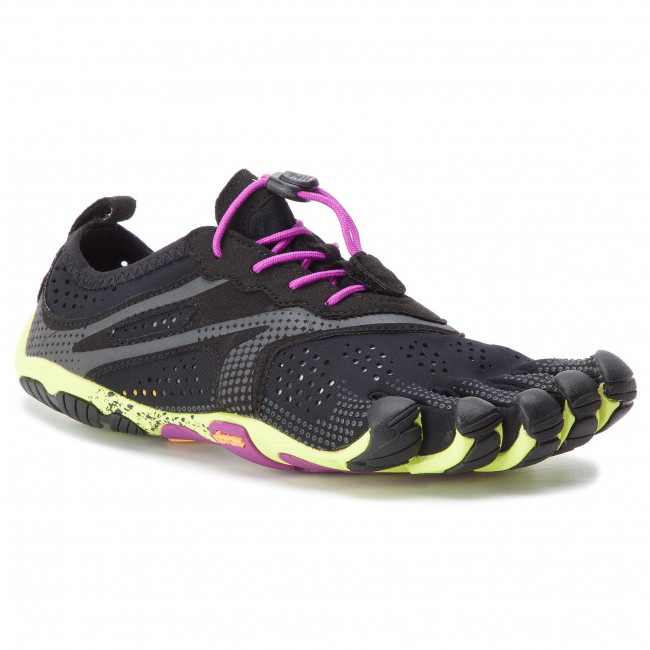 Batai VIBRAM FIVEFINGERS - V-Run 17M7005 Black/Yellow/Purple